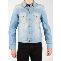 Textil Homem casacos de ganga Wrangler Denim Jacket W458QE20T blue