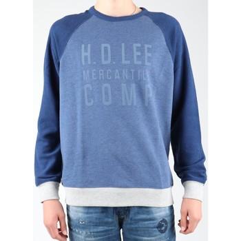 Textil Homem Casaco polar Lee Graphic Crew SWS L80ODELR blue