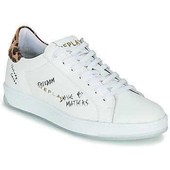 Sapatos Mulher Sapatilhas Replay MELANIA Branco