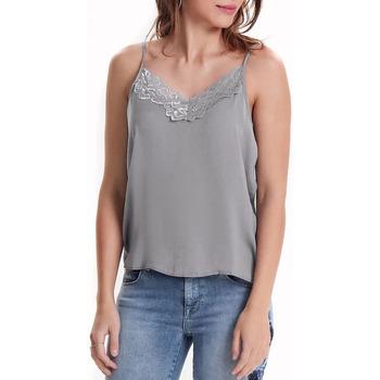Textil Mulher Tops / Blusas Jacqueline De Yong  Cinza
