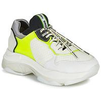 Sapatos Mulher Sapatilhas Bronx BAISLEY Branco / Amarelo