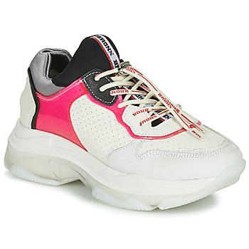 Sapatos Mulher Sapatilhas Bronx BAISLEY Branco / Rosa