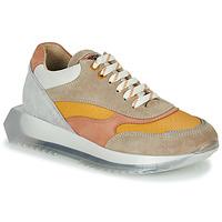 Sapatos Mulher Sapatilhas Bronx LINKK-UP Toupeira / Rosa / Cinza