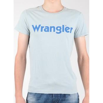 Textil Homem T-Shirt mangas curtas Wrangler S/S Graphic Tee W7A64DM3E grey