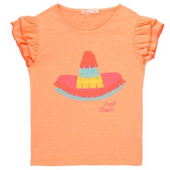 Textil Rapariga T-Shirt mangas curtas Billieblush / Billybandit NORE Laranja