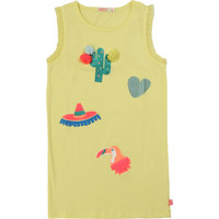 Textil Rapariga Vestidos curtos Billieblush / Billybandit NIAMO Amarelo