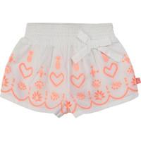 Textil Rapariga Shorts / Bermudas Billieblush / Billybandit NEYO Branco