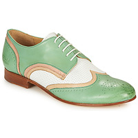 Sapatos Mulher Sapatos Melvin & Hamilton SALLY 15 Verde / Branco / Bege