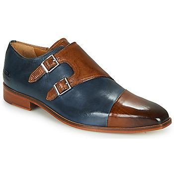 Sapatos Homem Richelieu Melvin & Hamilton LANCE 34 Azul / Castanho