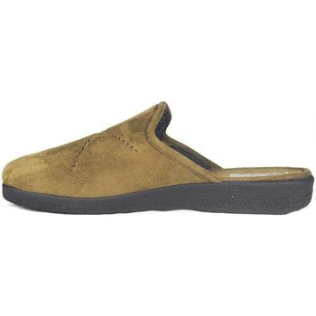 Sapatos Homem Chinelos Roal Zapatillas De Casa  859 Camello Castanho