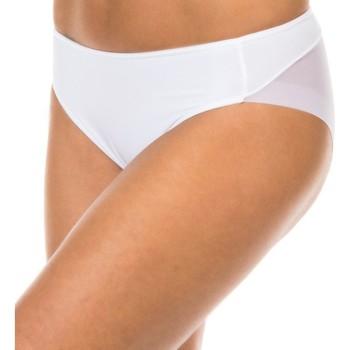 Roupa de interior Mulher Cueca Janira Braguita Tanga Effect Branco