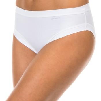 Roupa de interior Mulher Cueca Janira Braguita Micro Fibra Branco