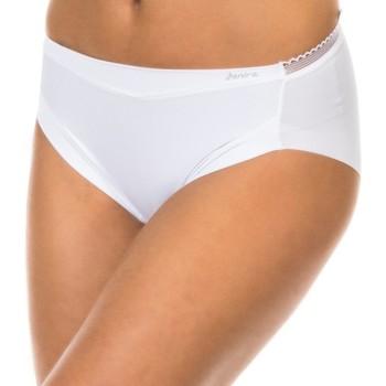 Roupa de interior Mulher Cuecas Janira Braguita Best Confort Branco