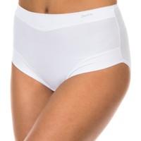 Roupa de interior Mulher Cuecas Janira Braguita Micro Fibra Branco