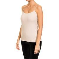 Roupa de interior Mulher Camisolas de interior Janira Camiseta de Tirantes Bege
