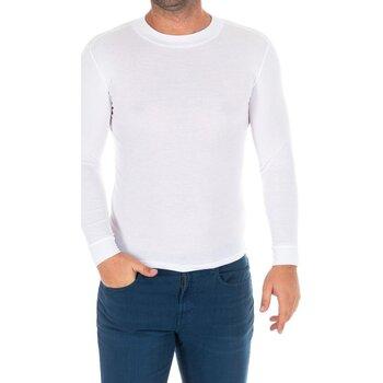 Textil Homem T-shirt mangas compridas Kisses And Love Camiseta m/larga Kisses&Love Branco