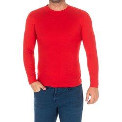 Textil Homem T-shirt mangas compridas Kisses And Love Camiseta m/larga Kisses&Love Vermelho