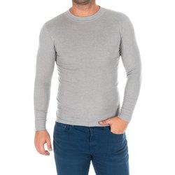 Textil Homem T-shirt mangas compridas Kisses And Love Camiseta m/larga Kisses&Love Cinza