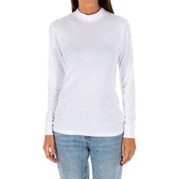Textil Mulher T-shirt mangas compridas Kisses And Love Camiseta m/larga Kisses&Love Branco