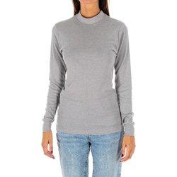 Textil Mulher T-shirt mangas compridas Kisses And Love Camiseta m/larga Kisses&Love Cinza