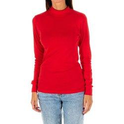 Textil Mulher T-shirt mangas compridas Kisses And Love Camiseta m/larga Kisses&Love Vermelho