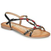 Sapatos Mulher Sandálias Gioseppo PARISH Preto / Vermelho
