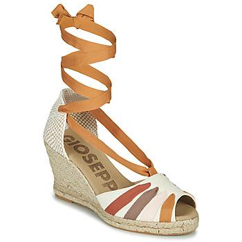 Sapatos Mulher Sandálias Gioseppo ARLEY Cru / Mostarda