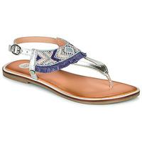 Sapatos Rapariga Sandálias Gioseppo BERMUDAS Azul / Branco