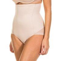 Roupa de interior Mulher Cuecas de cintura subida Janira Faja Silueta Secrets Bege