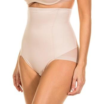 Roupa de interior Mulher Cuecas de cintura subida Janira Faja Silueta Forte Plus Bege