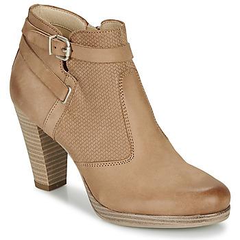Sapatos Mulher Botins André BERNETTA Camel