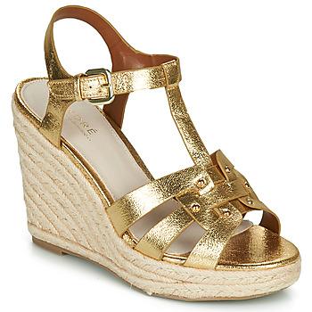 Sapatos Mulher Sandálias André PERLINE Ouro