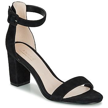 Sapatos Mulher Sandálias André BERTILLE Preto