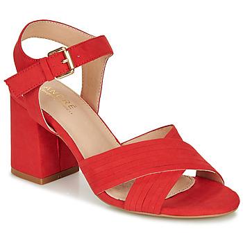 Sapatos Mulher Sandálias André JACYNTH Vermelho