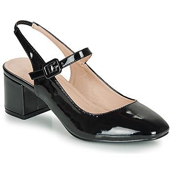 Sapatos Mulher Sabrinas André JONNA Preto / Verniz