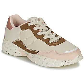 Sapatos Mulher Sapatilhas André HAZE Bege