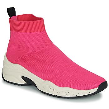 Sapatos Mulher Sapatilhas de cano-alto André HARUNA Rosa