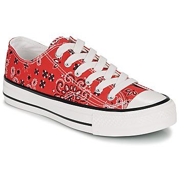 Sapatos Mulher Sapatilhas André HAPPY Vermelho
