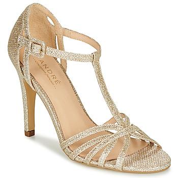 Sapatos Mulher Escarpim André JOY Ouro