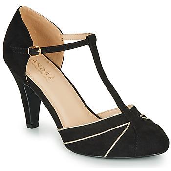 Sapatos Mulher Escarpim André JULIETTE Preto