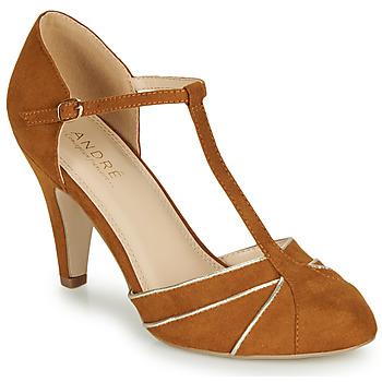Sapatos Mulher Escarpim André JULIETTE Camel