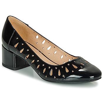 Sapatos Mulher Sabrinas André JOZEFA Preto / Verniz