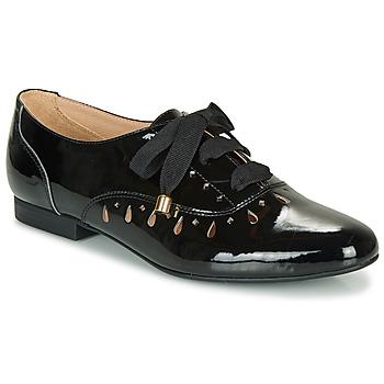 Sapatos Mulher Sapatos André JUNIA Preto / Verniz