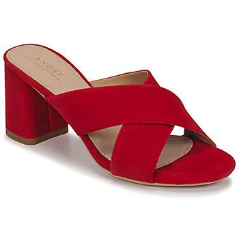 Sapatos Mulher Sandálias André JULITTA Vermelho