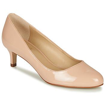 Sapatos Mulher Escarpim André VALERIANE Cru