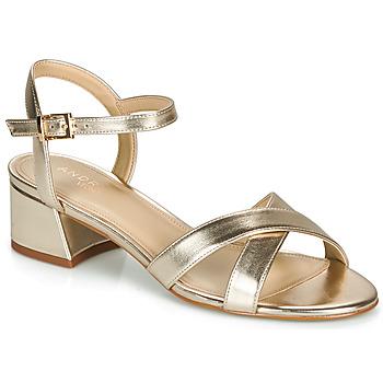 Sapatos Mulher Sandálias André VICTORIA Ouro