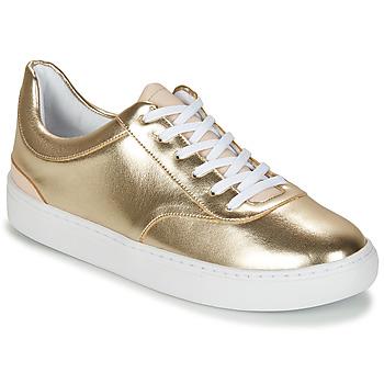 Sapatos Mulher Sapatilhas André VIORNE Ouro