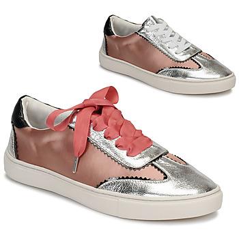 Sapatos Mulher Sapatilhas André LA VOLTIGEUSE Rosa
