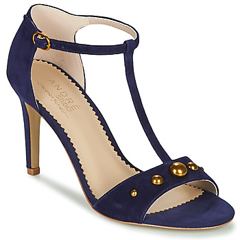 Sapatos Mulher Sandálias André LA DOMPTEUSE Azul