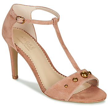 Sapatos Mulher Sandálias André LA DOMPTEUSE Rosa